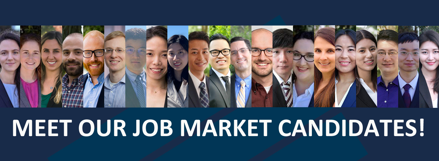 UCSD Job Market 2020